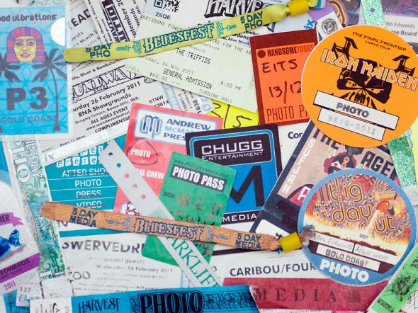 2011 Photo Passes and Tickets