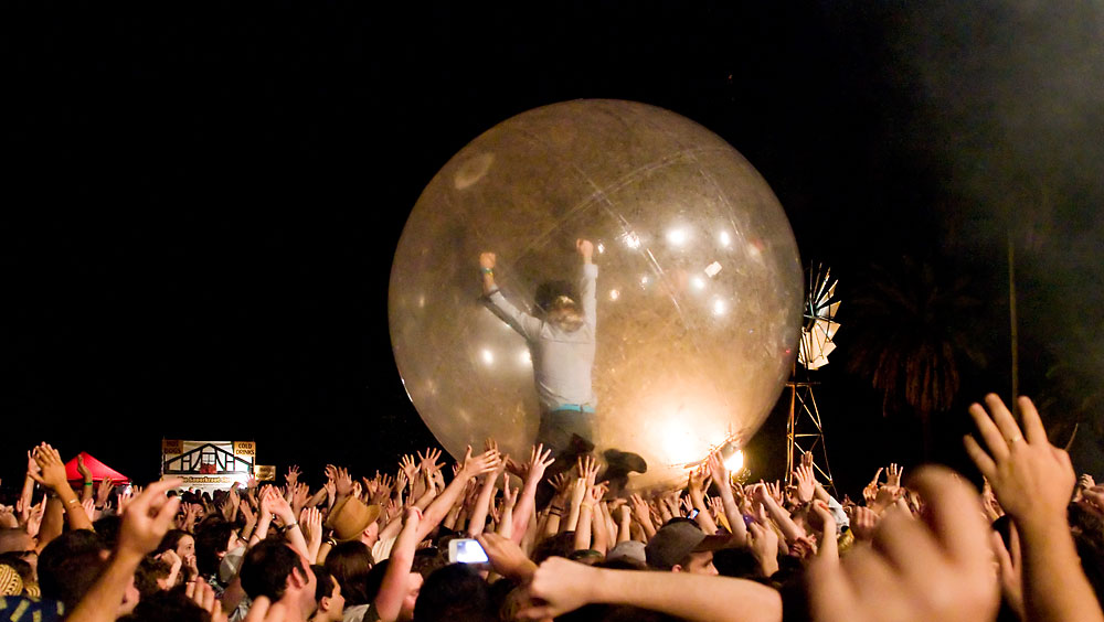 Flaming Lips - Harvest @ The Riverstage, Saturday 19 November 2011