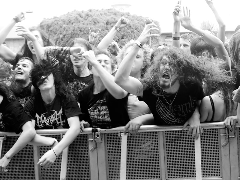 Black Dahlia Murder Crowd - Soundwave @ RNA Showgrounds, Saturday 25 February 2012