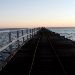 Sunset at One Mile Jetty, Carnarvon, WA